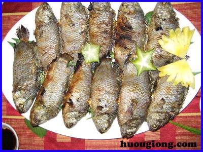 Đặc sản cá rô đồng
